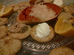 Dressed Crab Seafood Platter