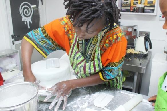 temi baking some more